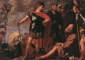 Alexander and Diogenes