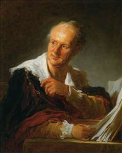 Denis Diderot (Fanciful Figure)