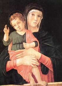 Madonna with Child Blessing