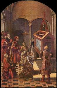 The Tomb of Saint Peter Martyr