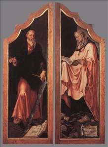 Triptych of the Entombment (closed)