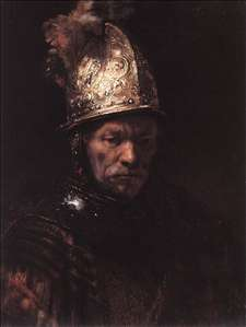 Man in a Golden Helmet