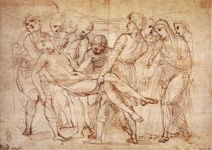Study for the Entombment