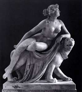 Ariadne on the Panther (front view)