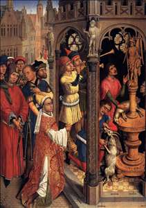 St Augustine Sacrificing to a Manichaean Idol