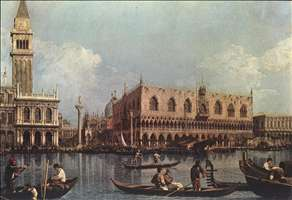View of the Bacino di San Marco (St Mark's Basin)