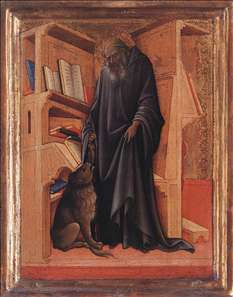 Diptych: St Jerome