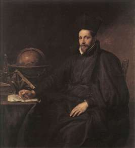 Portrait of Father Jean-Charles della Faille, S.J.