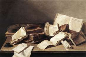 Still-Life of Books
