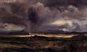 Stormy Weather over the Roman Campagna