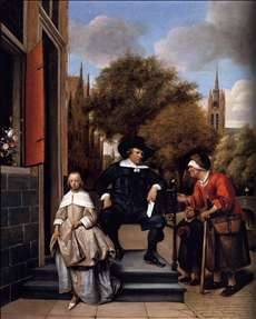 A Burgher of Delft and His Daughter