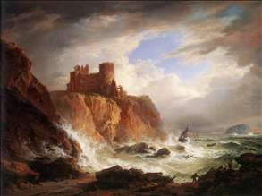 A View of Tantallon Castle