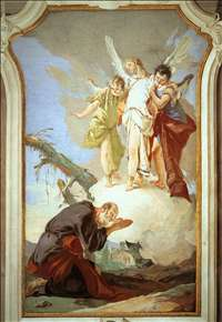 The Three Angels Appearing to Abraham