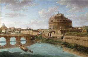 Rome: A View of the Tiber