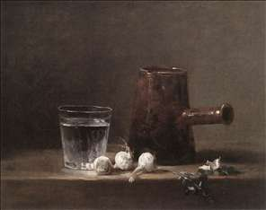 Water Glass and Jug