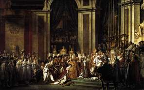Consecration of the Emperor Napoleon I and Coronation of the Empress Josephine