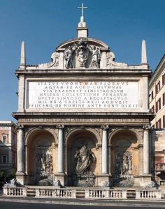 Fontana dell'Acqua Felice (Moses Fountain)