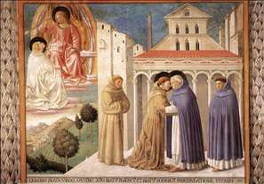 Scenes from the Life of St Francis (Scene 4, south wall)