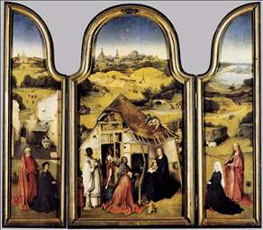 Triptych of the Adoration of the Magi