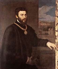 Portrait of Count Antonio Porcia
