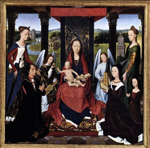 The Donne Triptych (centre panel)