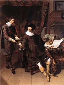 Constantijn Huygens and his Clerk