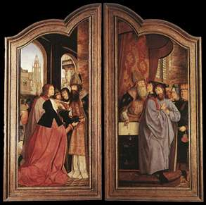 St Anne Altarpiece (closed)