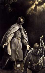 St Francis's Vision of the Flaming Torch