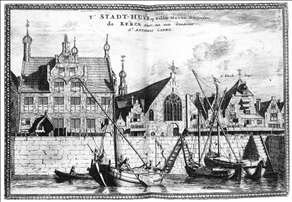 The Stadhuis of Delfshaven