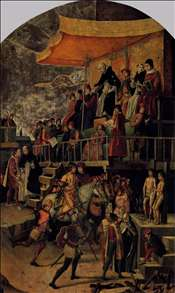 Burning of the Heretics (Auto-da-fé)