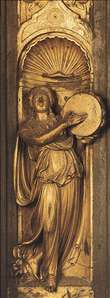 Sibyl (detail from the east door)