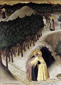 St Anthony Goes in Search of St Paul the Hermit