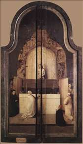 Triptych of the Adoration of the Magi (closed)