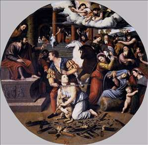 Martyrdom of St Agnes