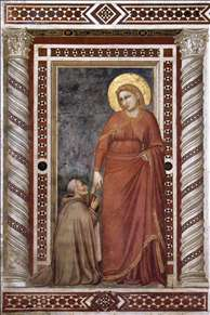 Scenes from the Life of Mary Magdalene: Mary Magdalene and Cardinal Pontano
