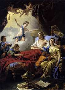 Allegory on the Death of the Dauphin