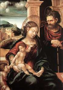 Holy Family with the Child St John