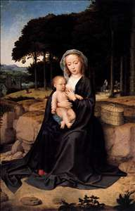 Rest during the Flight to Egypt