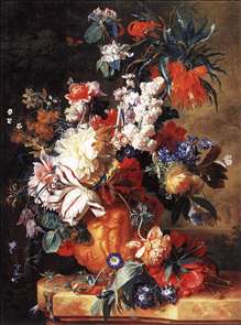 Bouquet of Flowers in an Urn
