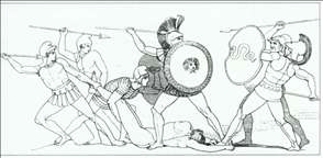 The Fight for the Body of Patroclus