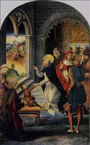 St Dominic Resurrects a Boy
