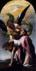 Saint John the Evangelist's Vision of Jerusalem
