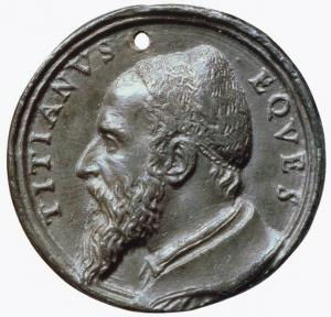 Portrait Medal of Titian
