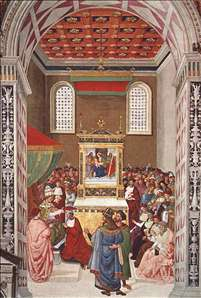 Piccolomini Receives the Cardinal Hat