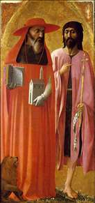 St Jerome and St John the Baptist