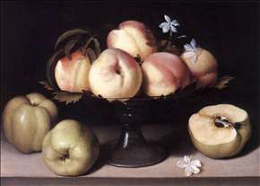 Still-life with Peaches