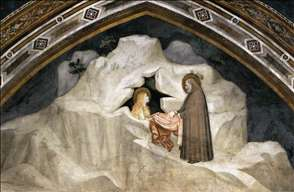 Scenes from the Life of Mary Magdalene: The Hermit Zosimus Giving a Cloak to Magdalene