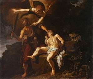 The Angel of the Lord Preventing Abraham from Sacrificing his Son Isaac