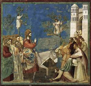 No. 26 Scenes from the Life of Christ: 10. Entry into Jerusalem