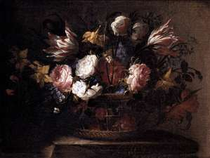 Still-Life with a Basket of Flowers
